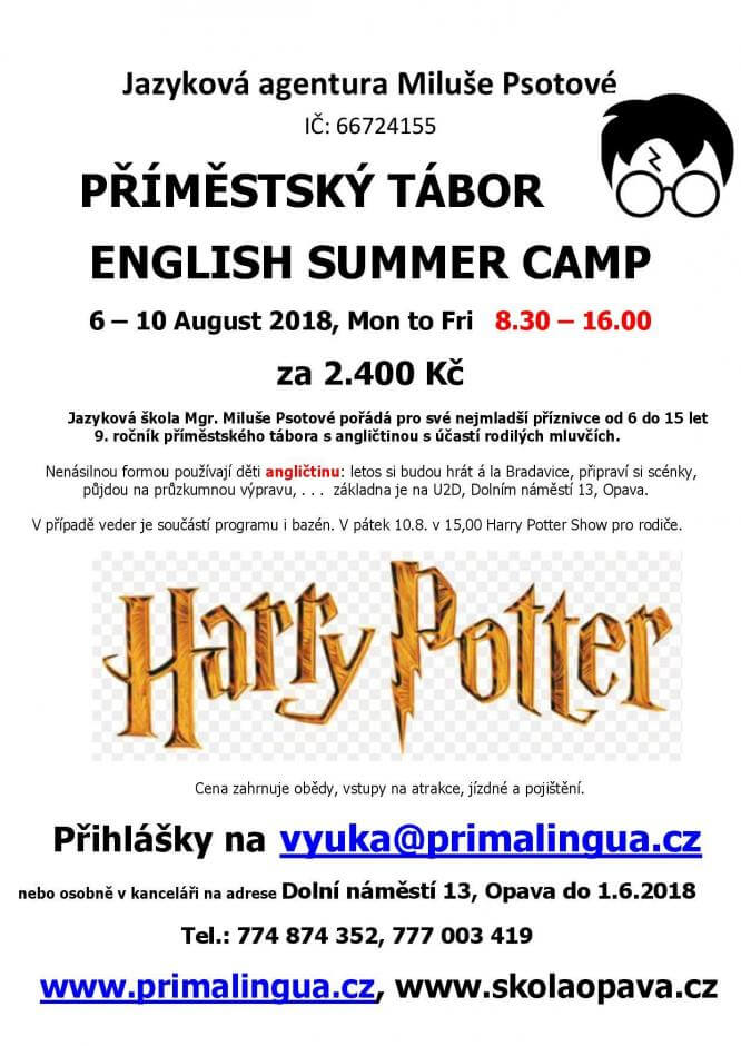 English Summer Camp Opava